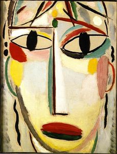 Alexej Georgewitsch Von Jawlensky - Cara del Salvador: The Last Look