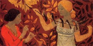 Paul Serusier - escena