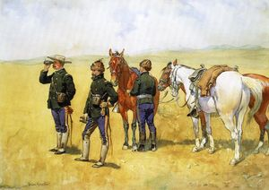 Frederic Remington - El Partido Movimiento Scout