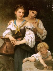 William Adolphe Bouguereau - el secreto
