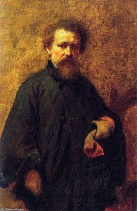 Jonathan Eastman Johnson - autorretrato