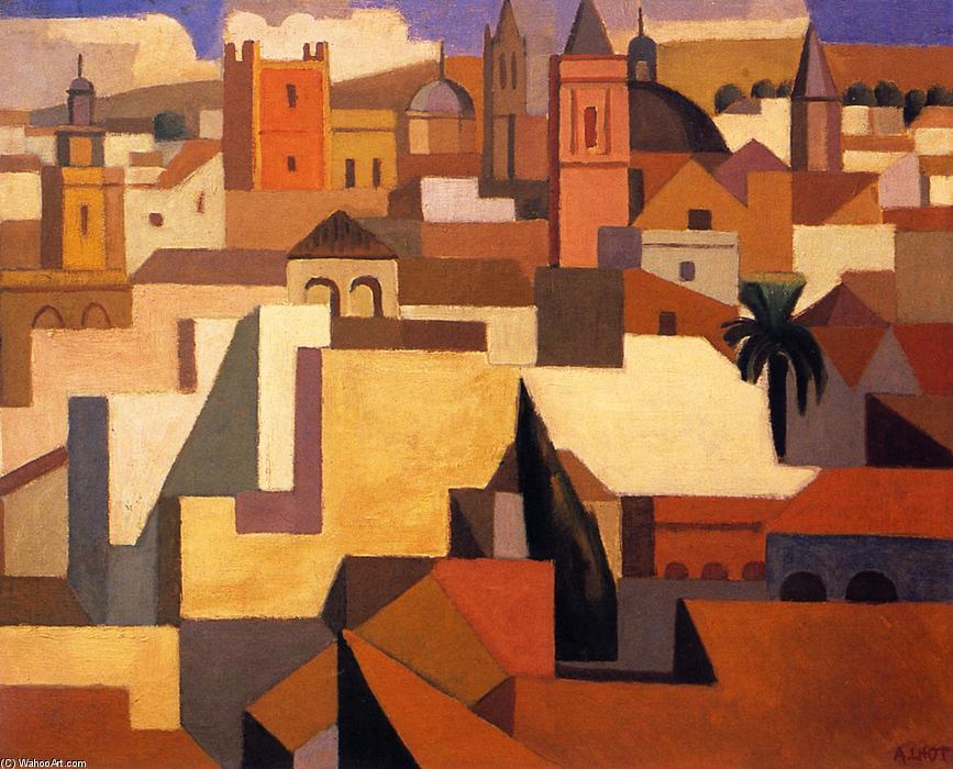 Sevilla, 1922 de Andre Lhote (1885-1962, France) | Reproducciones De Calidad Del Museo | WahooArt.com