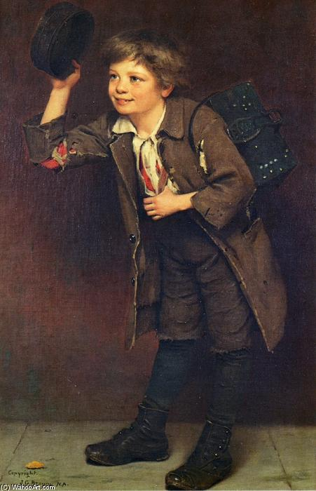 Shine, señor? de John George Brown (1831-1913, United Kingdom) | WahooArt.com