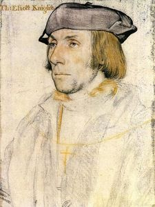 Hans Holbein The Younger - Señor thomas eliot