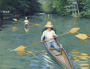Gustave Caillebotte - Esquifes