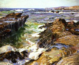 George Gardner Symons - Sureste de california Playa