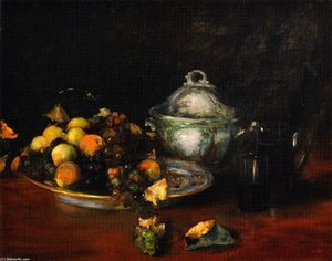 William Merritt Chase - naturaleza muerta FRUTO