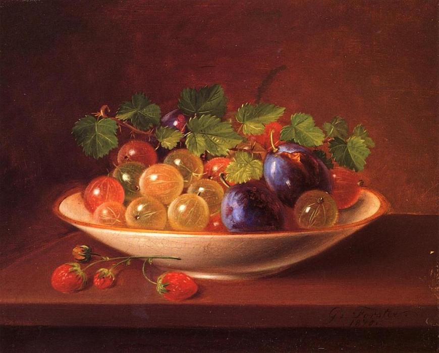 Naturaleza Muerta George-Forster-Still-Life-with-Fruit