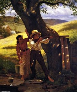 John George Brown - A Sure Thing
