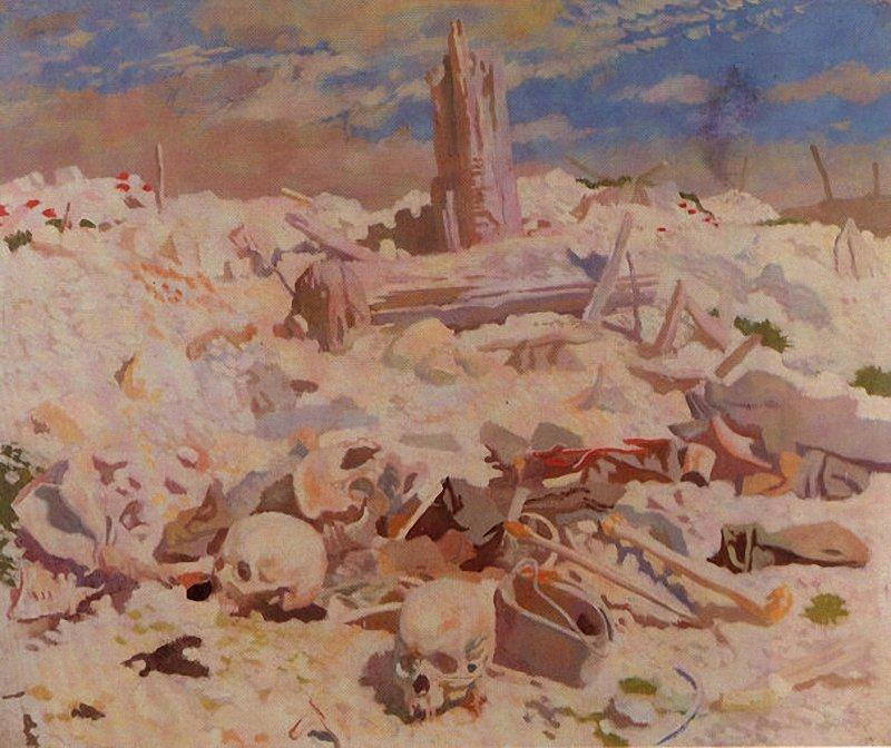 Thiepval, 1917 de William Newenham Montague Orpen (1878-1931, Ireland) | Arte De La Reproducción | WahooArt.com