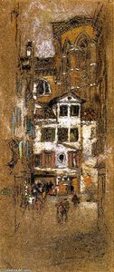James Abbott Mcneill Whistler - Bajo el Frari