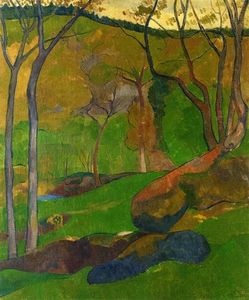 Paul Serusier - Maleza en Huelgoat