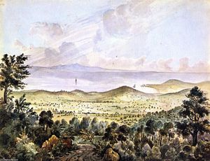 James Madison Alden - Valle de montecito, cerca de santa . Bárbara , California