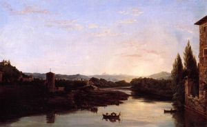 Thomas Cole - Vista de la Arno