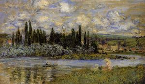 Claude Monet - Vista de Vetheuil