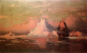 William Bradford - Balleneros Después de la Nip en Melville Bay