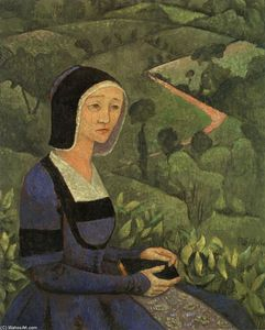 Paul Serusier - Una Viuda