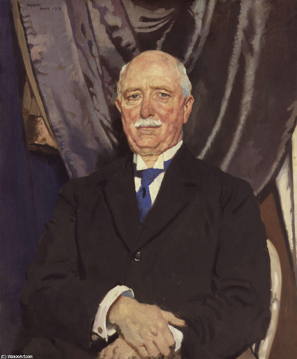 William Ferguson Massey de William Newenham Montague Orpen (1878-1931, Ireland) | Reproducciones De Calidad Del Museo | WahooArt.com