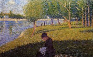 Georges Pierre Seurat - Mujer Sewint