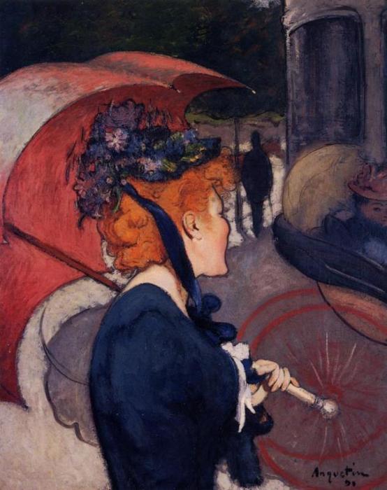 Woman Umbrella Monet Woman-with-umbrella