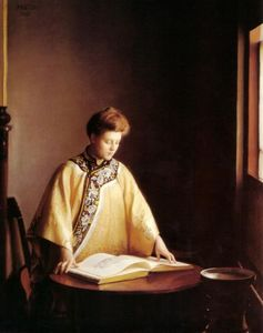 William Macgregor Paxton - La chaqueta amarilla