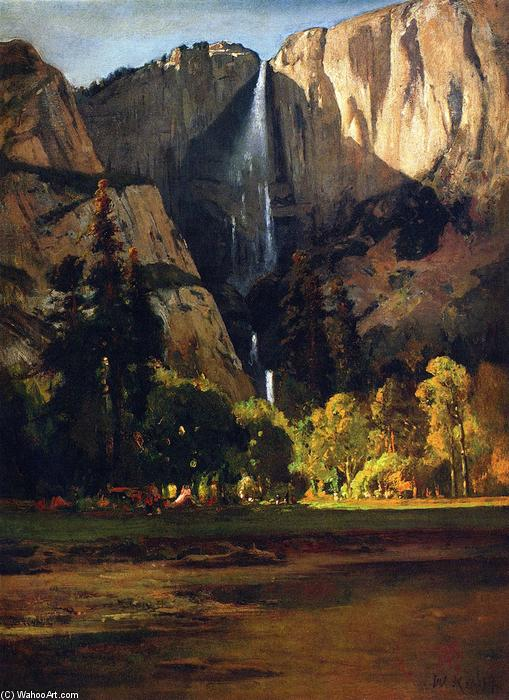 Las cataratas de Yosemite, óleo sobre lienzo de William Keith (1838-1911, Scotland)