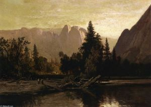 William Keith - Valle de Yosemite