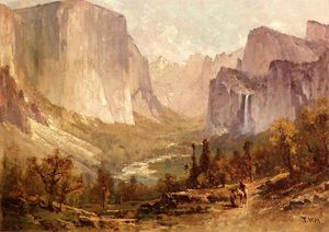 Thomas Hill - Valle de Yosemite