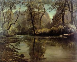 Albert Bierstadt - valle de yosemite , California