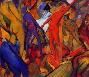 Albert Bloch - Untitled (cifras Infernal)