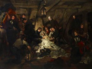 Arthur William Devis - La muerte de Nelson -