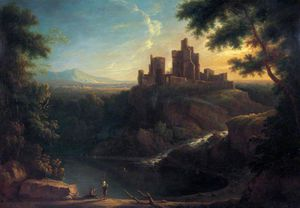 George Barret The Elder - Castillo de Chepstow