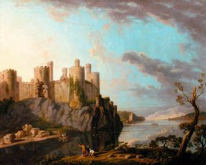 George Barret The Elder - Castillo de Conway -