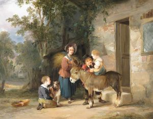William Joseph Shayer - el burro paseo