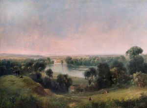 William Joseph Shayer - Twickenham Desde Richmond, Surrey