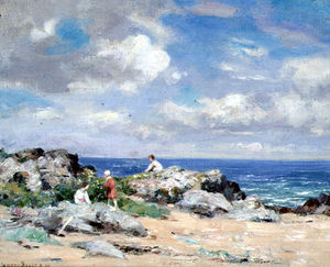 William Mctaggart - pescador niños