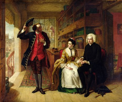 el pulso el  esposo  de William Powell Frith (1819-1909, United Kingdom)