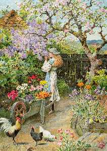 William Stephen Coleman - Flores de la primavera