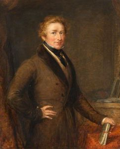 John Linnell - Sir Robert Peel