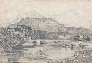 John Sell Cotman - Tan-y-bwlch , norte wales