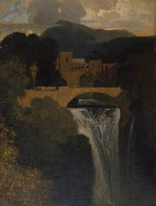 John Sell Cotman - el catarata
