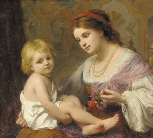 Thomas George Webster - Materno amor