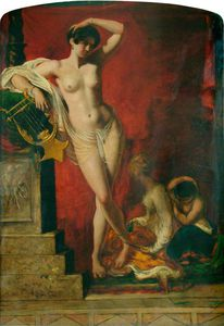 William Etty - Clio