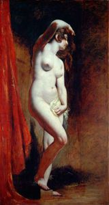 William Etty - el bañista