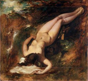 William Etty - el diluvio