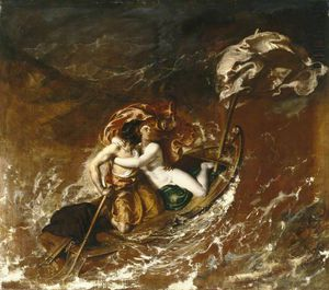 William Etty - la tormenta
