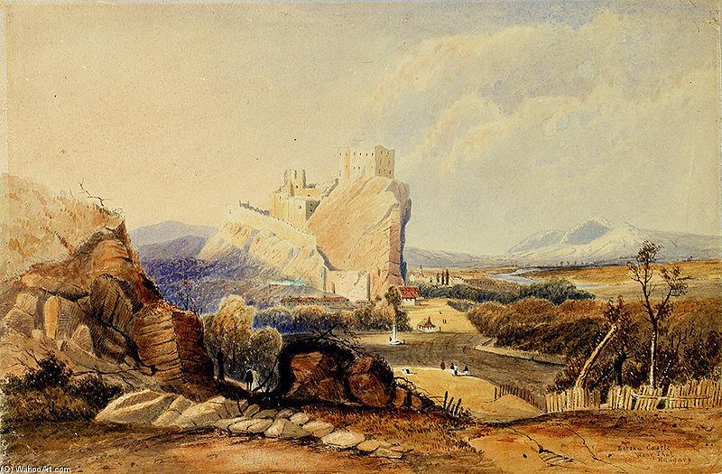Castillo Betska de George Edwards Hering (1805-1879, United Kingdom)