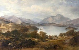 Horatio Mcculloch - Lago Lomond
