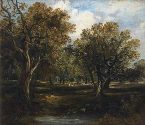 Horatio Mcculloch - rural escena