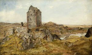 Horatio Mcculloch - Smailholm Torre